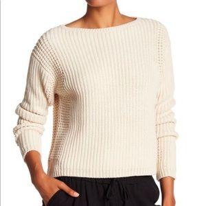 Vince Chunky Knit Sweater shell XS like new!